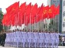 Diễu binh hùng tráng trước lễ đài Ba Đình