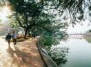 Chùm ảnh Hà Nội tuyệt đẹp sáng ngày mùng 1 Tết