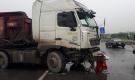 Tai nạn liên tiếp, cao tốc Pháp Vân - Cầu Giẽ ùn tắc