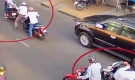 Truy xét nhóm đối tượng dùng bình xịt hơi cay tấn công cô gái, cướp xe máy SH ở Sài Gòn