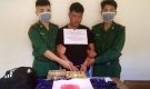 Bắt đối tượng người Lào cùng 24 nghìn viên ma túy