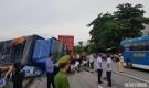 Nguyên nhân ban đầu khiến xe tải lật đè chết 5 người ở Hải Dương