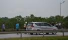Thực nghiệm hiện trường vụ container tông Innova đi lùi trên cao tốc không có mặt 2 tài xế