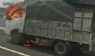 Xe tải bốc cháy dữ dội trên cao tốc Hạ Long