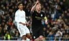 Ghi 2 bàn trong 5 phút, Man City lội ngược dòng trước Real ở Bernabeu