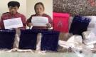 Thanh Hoá: Bắt giữ cặp 'vợ chồng hờ' chung tiền mua ma tuý về bán kiếm lời
