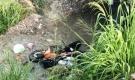 Thanh niên tử vong bên cạnh xe máy dưới suối ở Đồng Nai