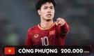 HAGL góp 3 cái tên trong top tuyển thủ Việt Nam đắt nhất