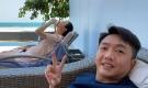 Im lặng trước tin đồn mang thai, Đàm Thu Trang lại tự công khai thân hình đúng chuẩn mẹ bầu
