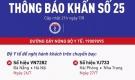 Thông báo khẩn liên quan đến 2 chuyến bay ở 4 thành phố lớn
