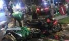 Một phụ nữ lái ô tô tông hàng loạt xe máy ở Sài Gòn, hơn 10 người bị thương