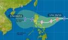 Kịch bản di chuyển của bão Goni khi vào Biển Đông