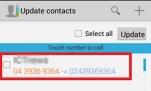Đổi mã vùng điện thoại các tỉnh đồng loạt trên Android