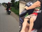 http://xahoi.com.vn/thot-tim-canh-me-vat-ngang-con-tren-dui-roi-binh-than-lai-xe-267817.html