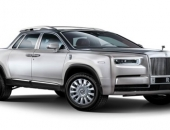 Sửng sốt với xe bán tải Rolls-Royce