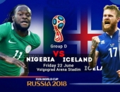 Nigeria – Iceland: Mở đường sống, diệt Argentina – Messi (World Cup 2018)