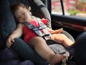 Cách phòng sốc nhiệt cho trẻ khi đi xe hơi