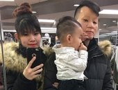"""Cặp chồng xấu - vợ xinh ở Canada: """"Mình làm nail, chồng làm nhà hàng, vất vả nhưng vì con'"""
