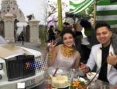 Đám cưới siêu khủng ở Nam Định: Bố vợ tặng 200 cây vàng, rước dâu bằng xe Rolls-Royce
