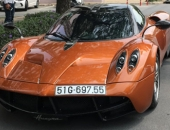 """Tốn 80 tỷ của Minh """"nhựa"""", siêu xe Huayra chỉ làm 'cảnh'"""