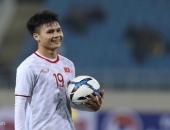 Quang Hải sáng nhất trong trận đấu tẻ nhạt của U23 Việt Nam