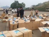 Bắt lô khẩu trang không rõ nguồn gốc lớn nhất từ trước đến nay ở Lào Cai