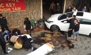 Hà Nội: Nghi vấn bác sĩ say rượu lái ô tô tông đồng nghiệp bị thương nặng