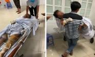 Tiếng khóc xé lòng của bé trai 3 tuổi bị bỏng nặng trong vụ đốt nhà vì mâu thuẫn: 'Bà ngoại ơi... cứu con'