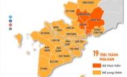 19 tỉnh thành phía Nam tiếp tục giãn cách theo Chỉ thị 16