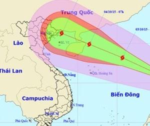 Bão số 4 giật cấp 10 tiến vào Biển Đông, diễn biến phức tạp