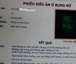 Hà Tĩnh: Một phụ nữ phát hiện bị 'mất cắp' nội tạng khi đi siêu âm