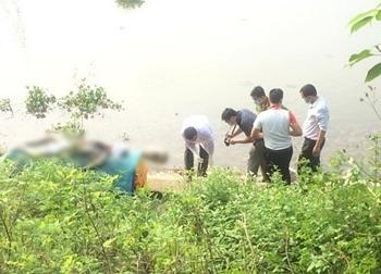 Kinh hoàng phát hiện thi thể nam thanh niên đang phân hủy ở sông Đáy