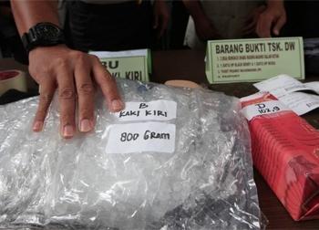 Nuốt 2 kg ma túy trong dạ dày