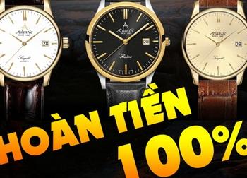 Chương trình 'Mua đồng hồ miễn phí – Hoàn tiền mặt 100%'