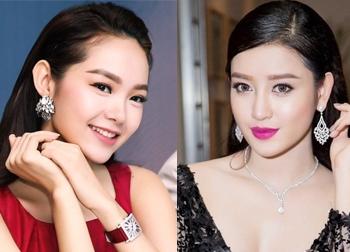 Choáng với những món trang sức hàng tỉ đồng của sao Việt