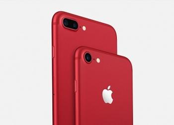 Apple ra mắt bộ đôi iPhone 7 và 7 Plus màu đỏ hút hồn 'dân mạng'