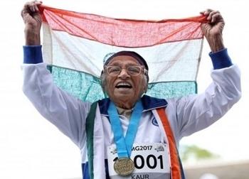 Cụ bà 101 tuổi đạt huy chương vàng chạy 100m