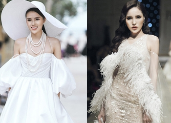 Hoa hậu Kỳ Duyên: Ngôi sao đường băng đắt show nhất năm 2017?