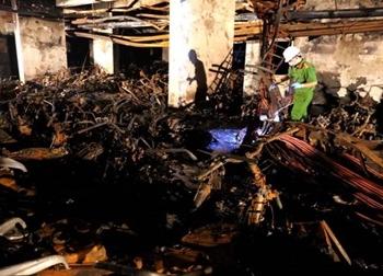 Khởi tố giám đốc công ty Hùng Thanh trong vụ cháy chung cư Carina