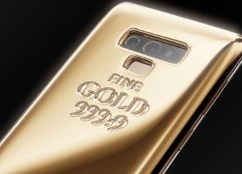 Phiên bản Galaxy Note 9 dát 1kg vàng nguyên chất với giá đắt đỏ 1,4 tỷ đồng