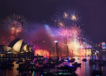'Mãn nhãn' với những màn pháo hoa ấn tượng mừng năm mới 2019