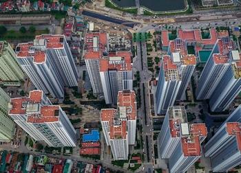 'Rừng chung cư' chen chúc ở cửa ngõ phía tây Hà Nội