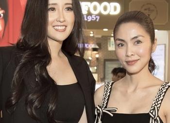 Hà Tăng khi chung khung hình với dàn Hoa hậu: Dù makeup đậm hay nhạt cũng không 'ngán' bất cứ ai