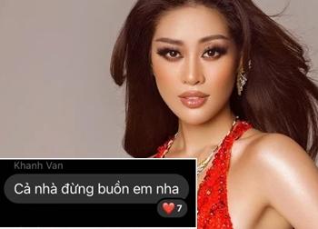 Ê kíp hé lộ dòng tin nhắn đầy xót xa của Khánh Vân khi trượt khỏi top 10