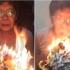 Bà nội bình tĩnh nhất năm: Mặt không đổi sắc thổi tắt gần 70 cây nến sinh nhật