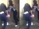 Hai cô gái đánh hội đồng, lột áo nữ sinh ở khu tập thể