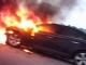 Clip: Đâm vào gốc cây, xe ô tô bốc cháy ngùn ngụt
