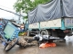 Tin tức giao thông 24h: Xe tải tông xe máy, 3 người thương vong
