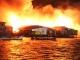 Cháy lớn, 50 căn nhà bị thiêu trụi trong đêm
