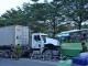 Xe buýt đối đầu container, hơn 10 người bị thương